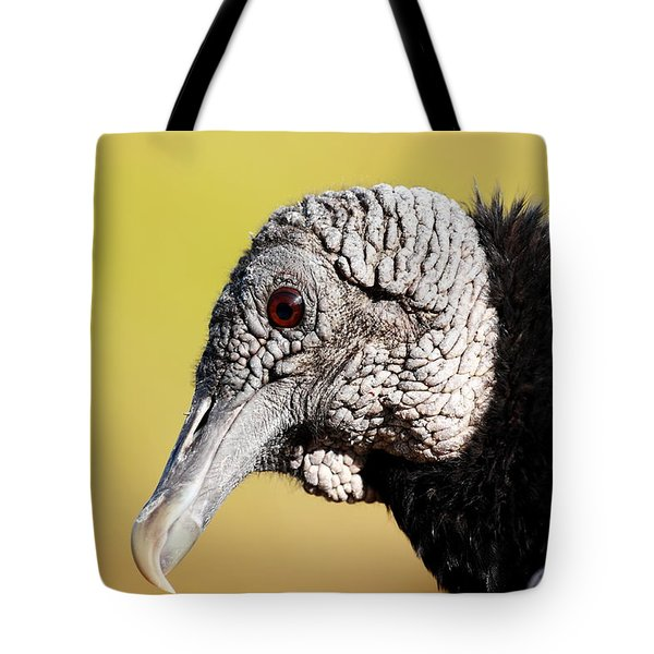 Black Vulture Portrait Tote Bag