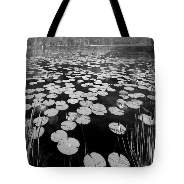 Black Water Tote Bag