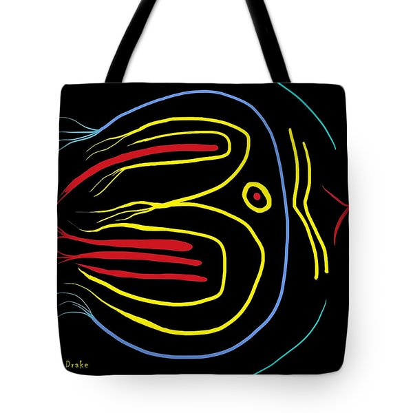 Blackbird Tote Bag by Alec Drake