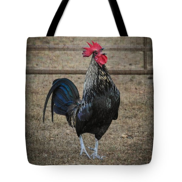 Tote Bag featuring the photograph Blackbird by Cheryl McClure