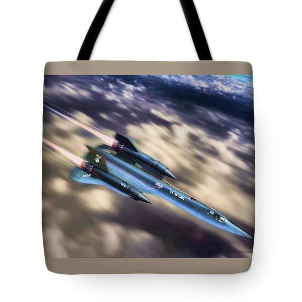 Tote Bag featuring the painting Blackbird by Dave Luebbert