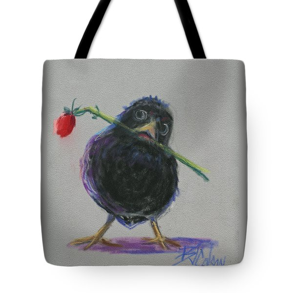 Blackbird Love Tote Bag