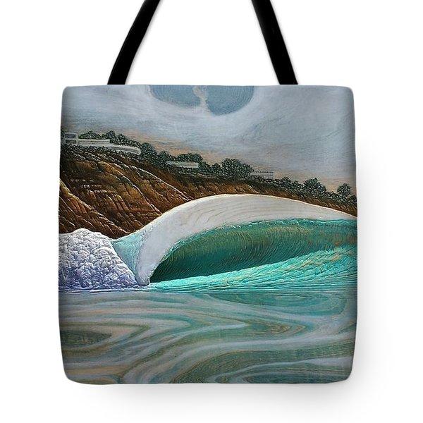 Blacks Beach Tote Bag by Nathan Ledyard