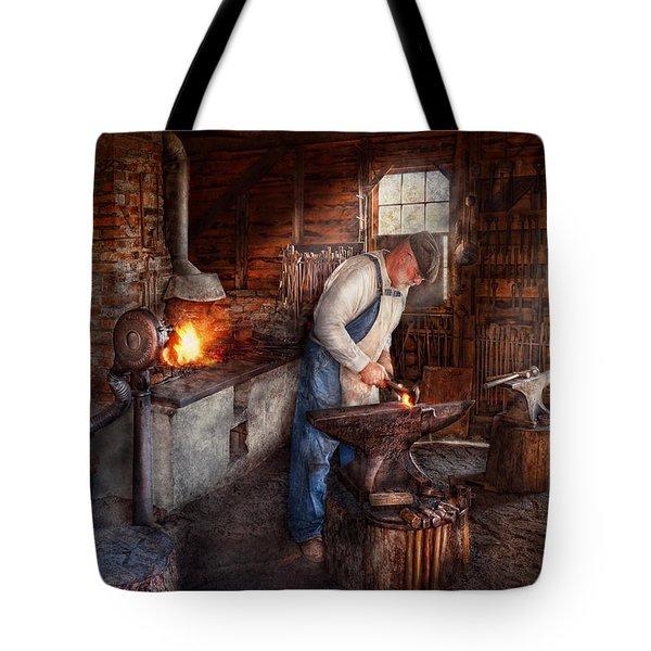 Blacksmith - The Smith Tote Bag by Mike Savad
