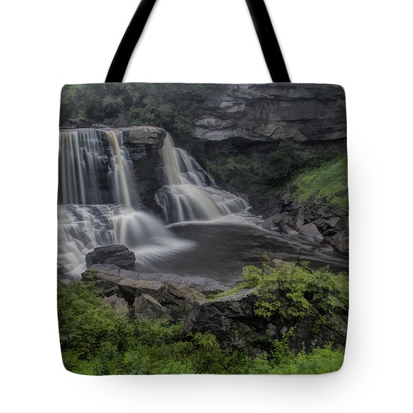 Blackwater Watercolor Tote Bag