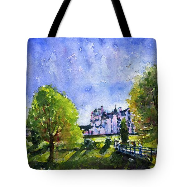 Blair Castle Bridge Scotland Tote Bag