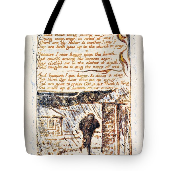 Blake Chimney Sweeper Tote Bag