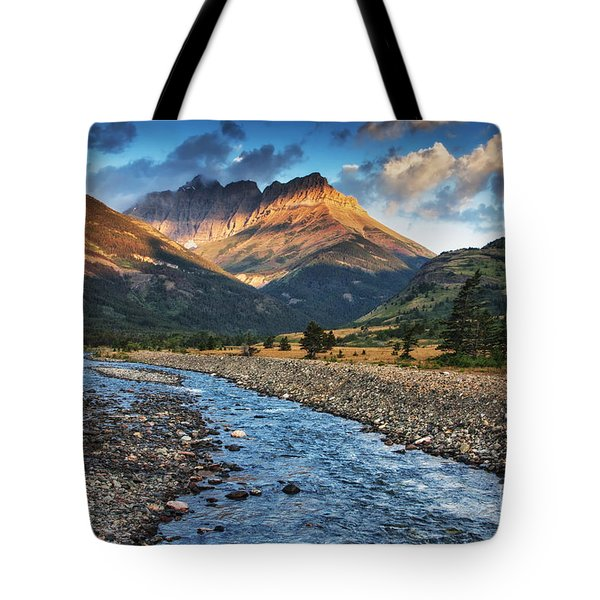 Blakiston Creek Tote Bag