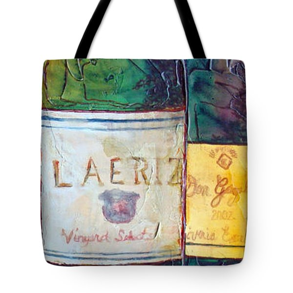Tote Bag featuring the painting Blanc De Blancs by Phyllis Howard