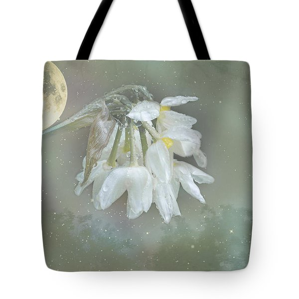 Tote Bag featuring the photograph Blanche by Elaine Teague