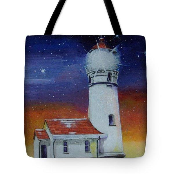 Blanco Lighthouse Tote Bag by Thomas J Herring