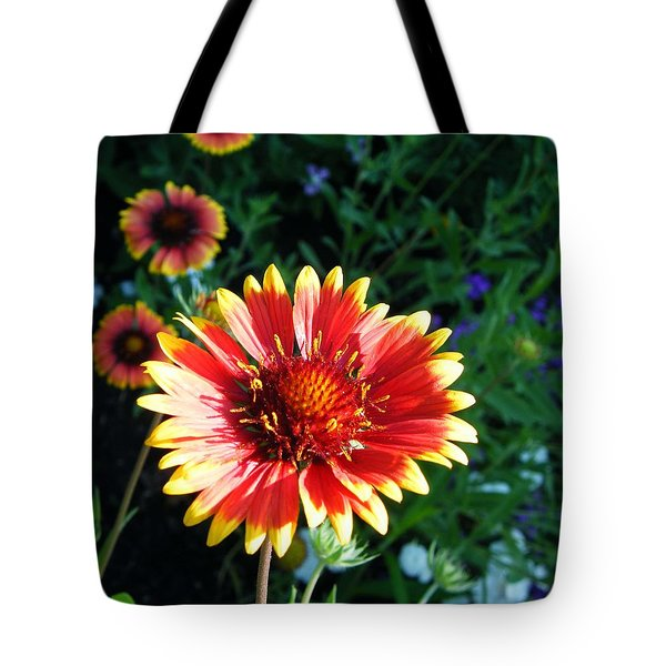Blanket Flower Tote Bag