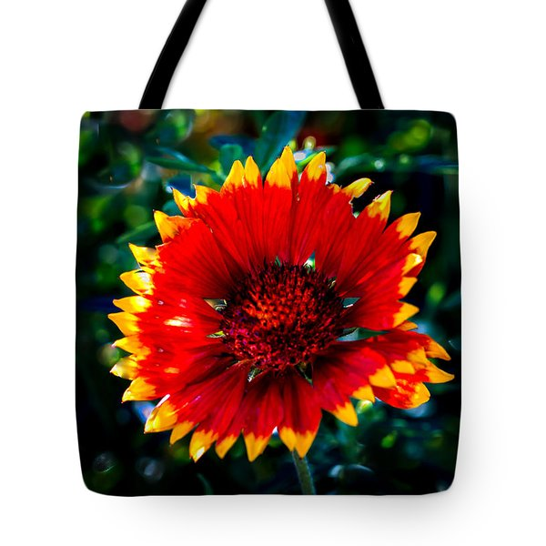 Blanket Flower Tote Bag