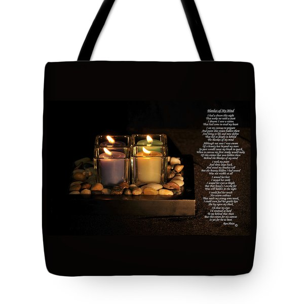 Tote Bag featuring the photograph Blanket Of My Mind by Ron Haist