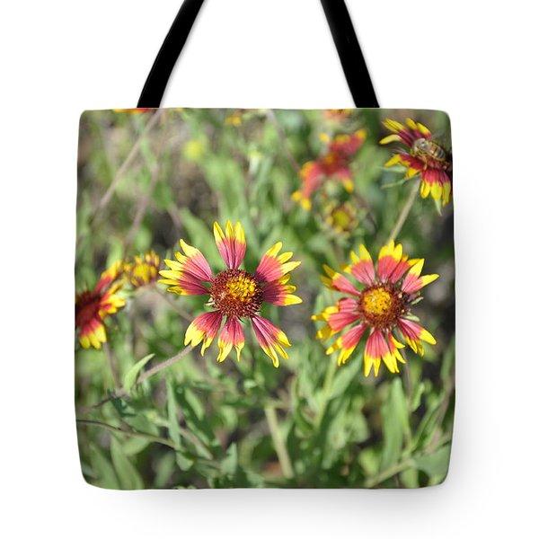 Blanketflower Tote Bag