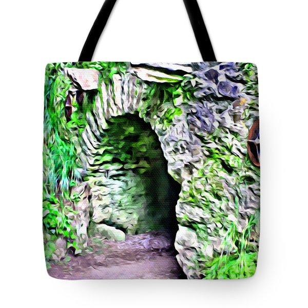 Blarney Cave Tote Bag