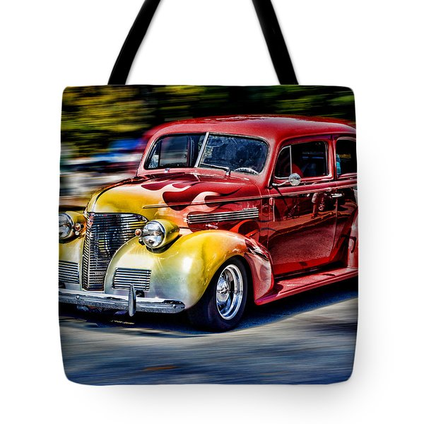 Blast From The Past Tote Bag by Larry Bishop