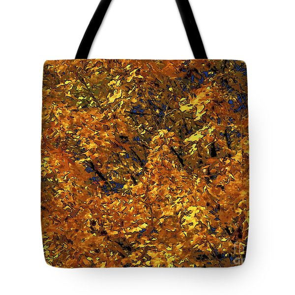 Blast Of Autumn Tote Bag