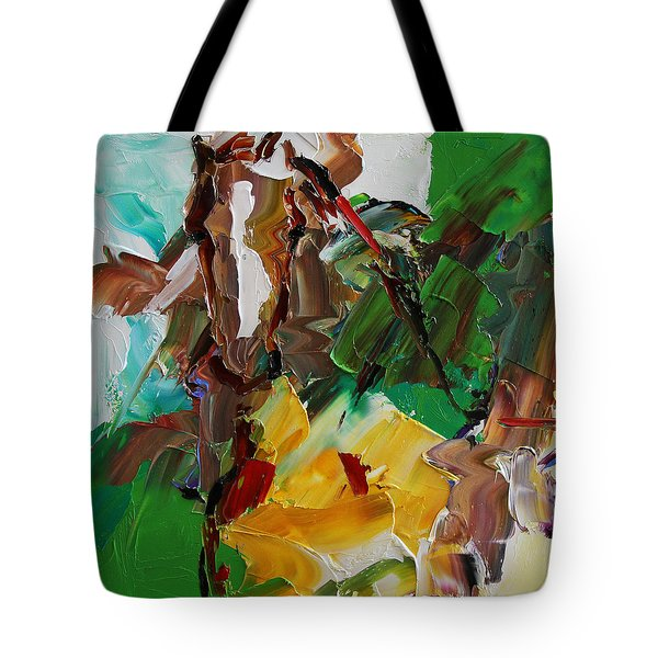 Blaze Of White Horse 23 2014 Tote Bag