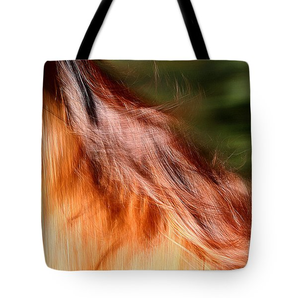 Blazing Fast Tote Bag by Michelle Twohig