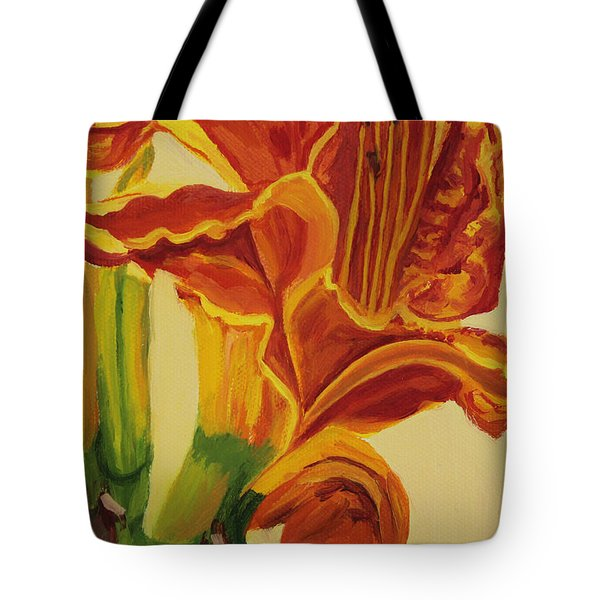 Blazing Glory Tote Bag