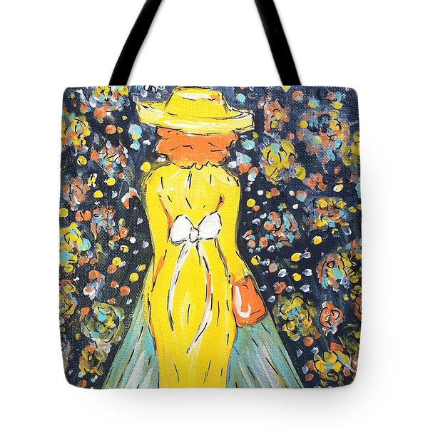 Blazing Her Own Path  Tote Bag