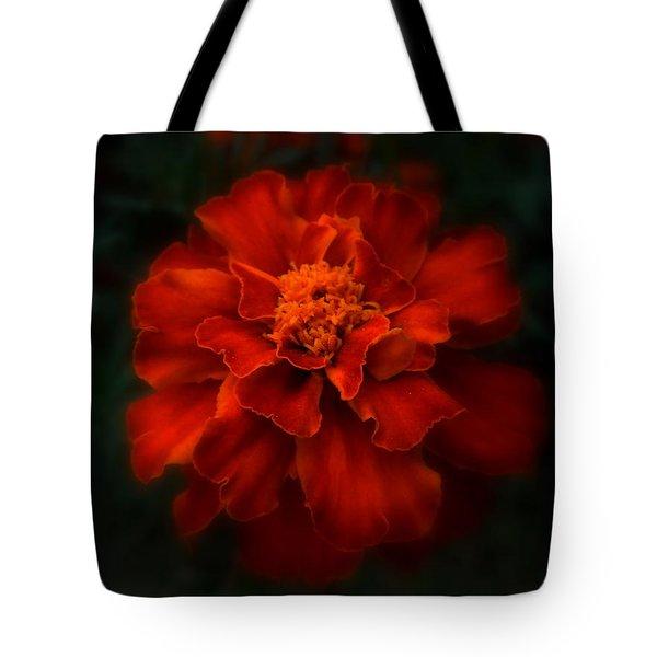 Blazing Marigold Tote Bag