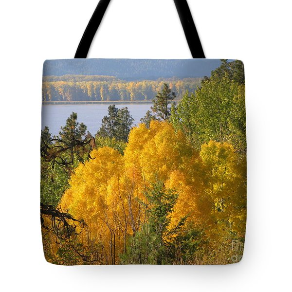 Blazing Yellow Tote Bag