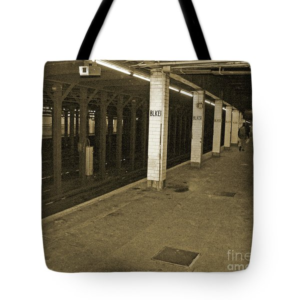Bleecker Street Tote Bag by Angela Wright