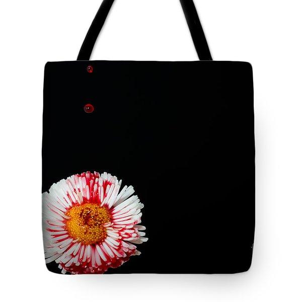 Bleeding Flower Tote Bag