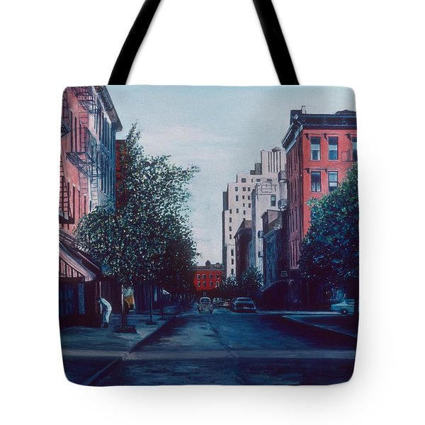 Bleeker Street Tote Bag by Anthony Butera