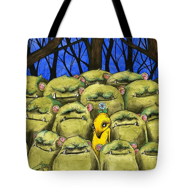 Blend In Tote Bag