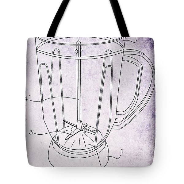 Blender Patent Tote Bag by Edward Fielding