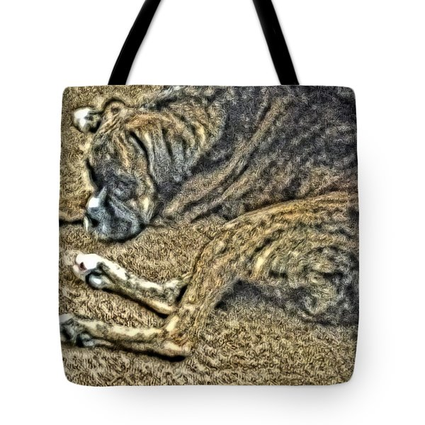 Blending In Tote Bag by April Patterson
