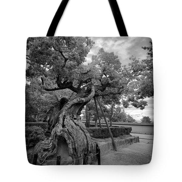 Blessed Tree Of Horyuji Temple - Japan Tote Bag