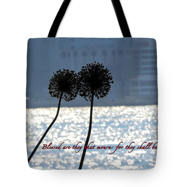 Blessed With Comfort Tote Bag