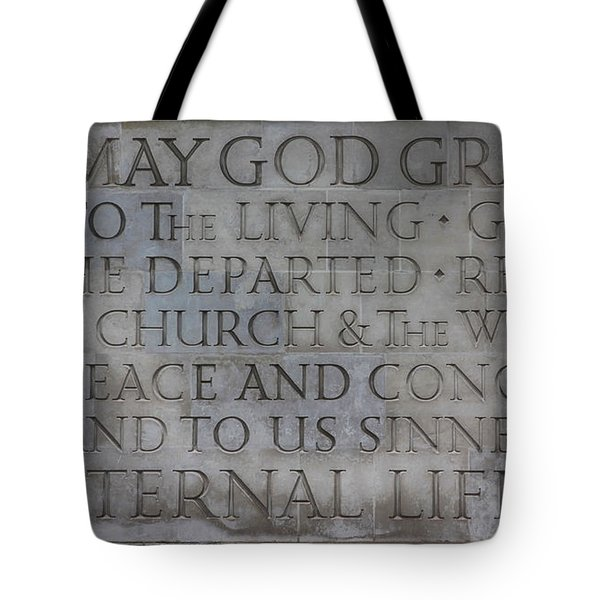 Blessing Tote Bag by Stephen Stookey