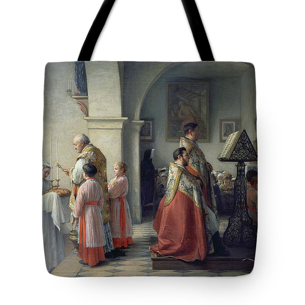 Blessing The Bread Tote Bag