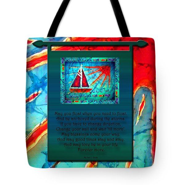 Blessings 1 Tote Bag by Sue Duda