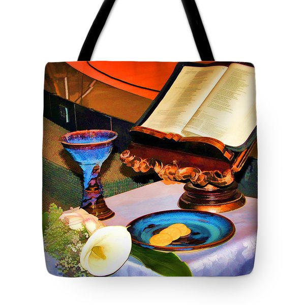 Tote Bag featuring the photograph Blessings-benediciones by Eleanor Abramson