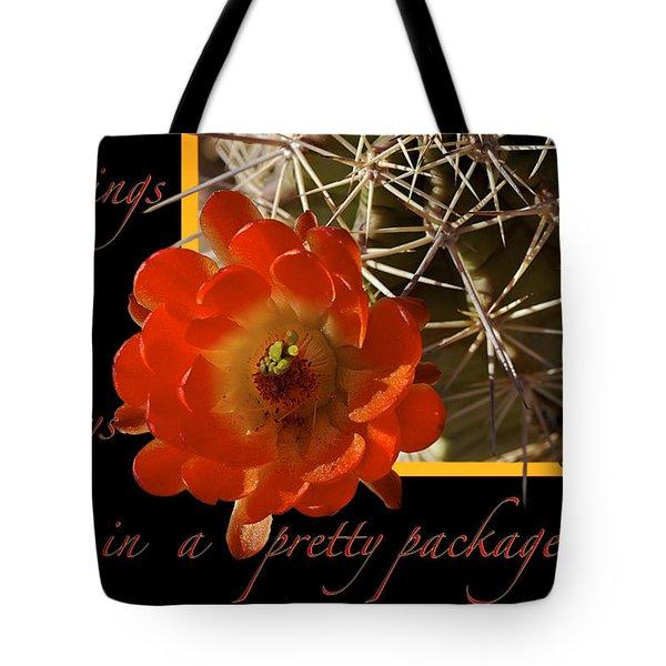 Blessings Tote Bag by Phyllis Denton
