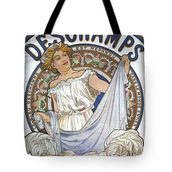 Bleu Deschamps Tote Bag by Georgia Fowler