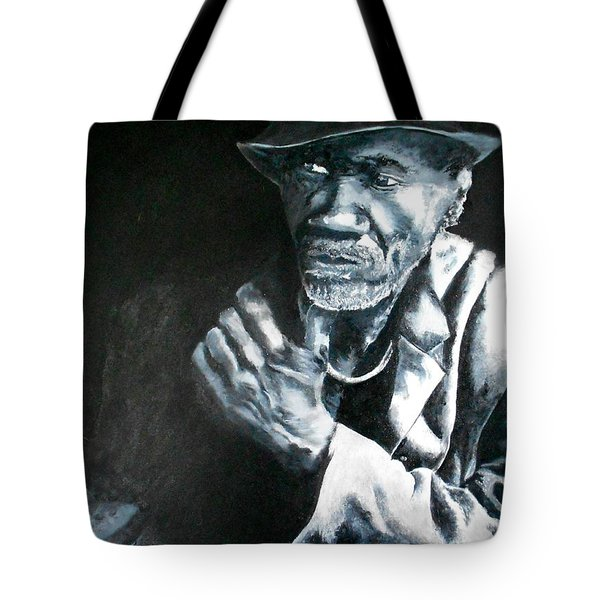 Blind Man Of Hindi Tote Bag