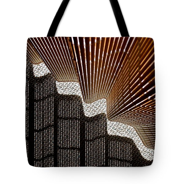 Blind Shadows Abstract I Tote Bag by Kirsten Giving