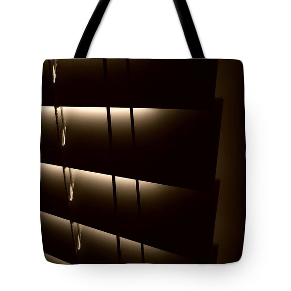 Blinds Tote Bag by Jeff Breiman