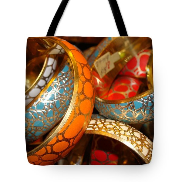 Tote Bag featuring the photograph Bling by Ira Shander