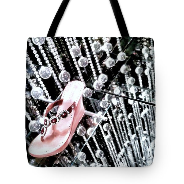 Tote Bag featuring the photograph Bling  by Robert McCubbin