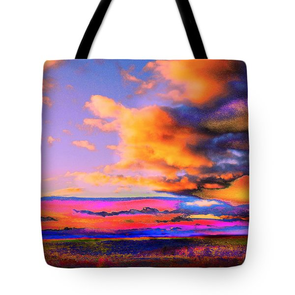 Blinn Hill View Tote Bag