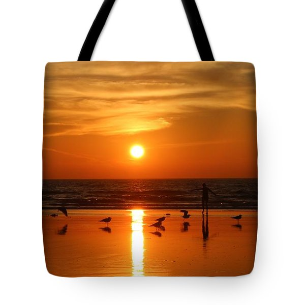Bliss At Sunset   Tote Bag