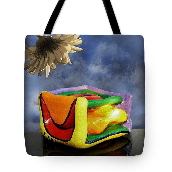 Blocked Tote Bag by Barbara St Jean